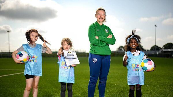 UEFA and Disney introduce new playful soccer programme for Irish girls
